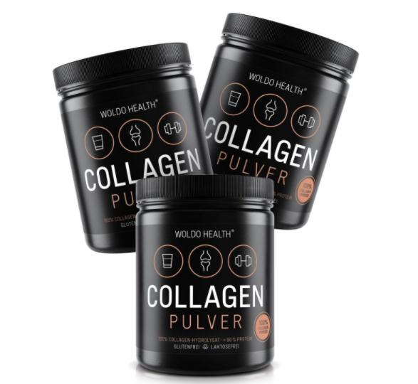 Doplňková Výživa - Kolagen WOLDOHEALTH 3x500g