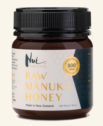 Doplňková Výživa - RAW Manukový med (nejsilnější 800+) 250g