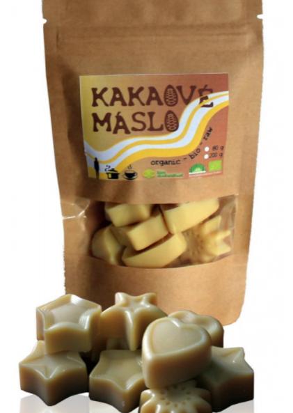 Doplňková Výživa - Kakaové máslo natural BIO 200g