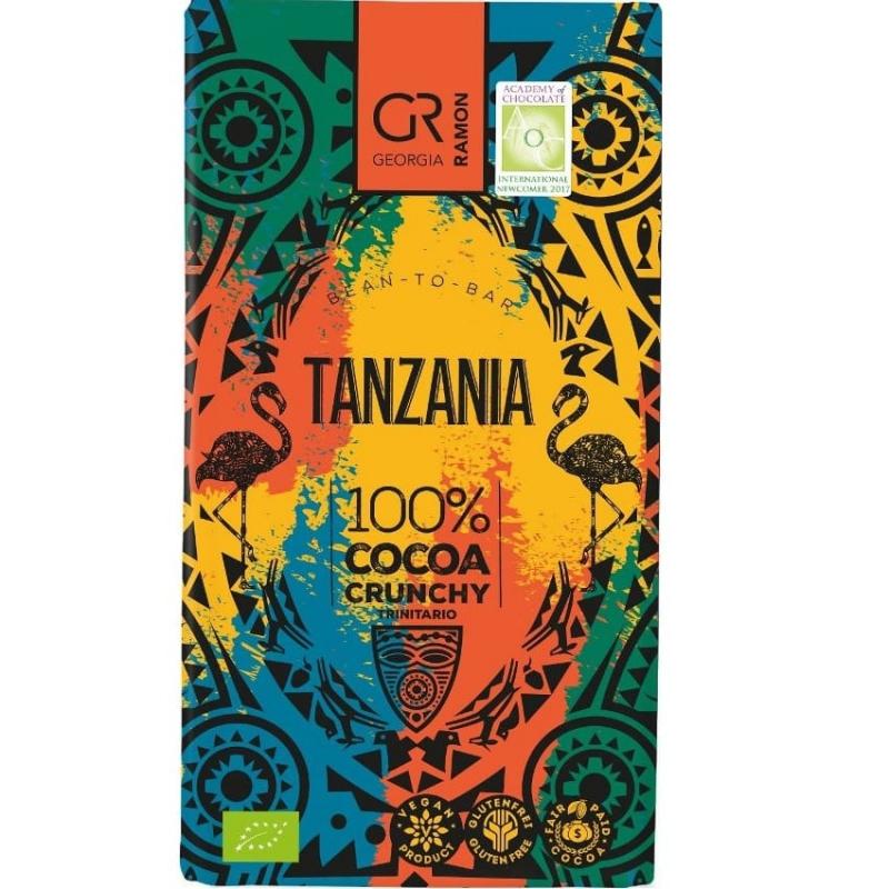 Doplňková Výživa - BIO 100% Tanzania (s drcenými boby) Georgia Ramon 50g