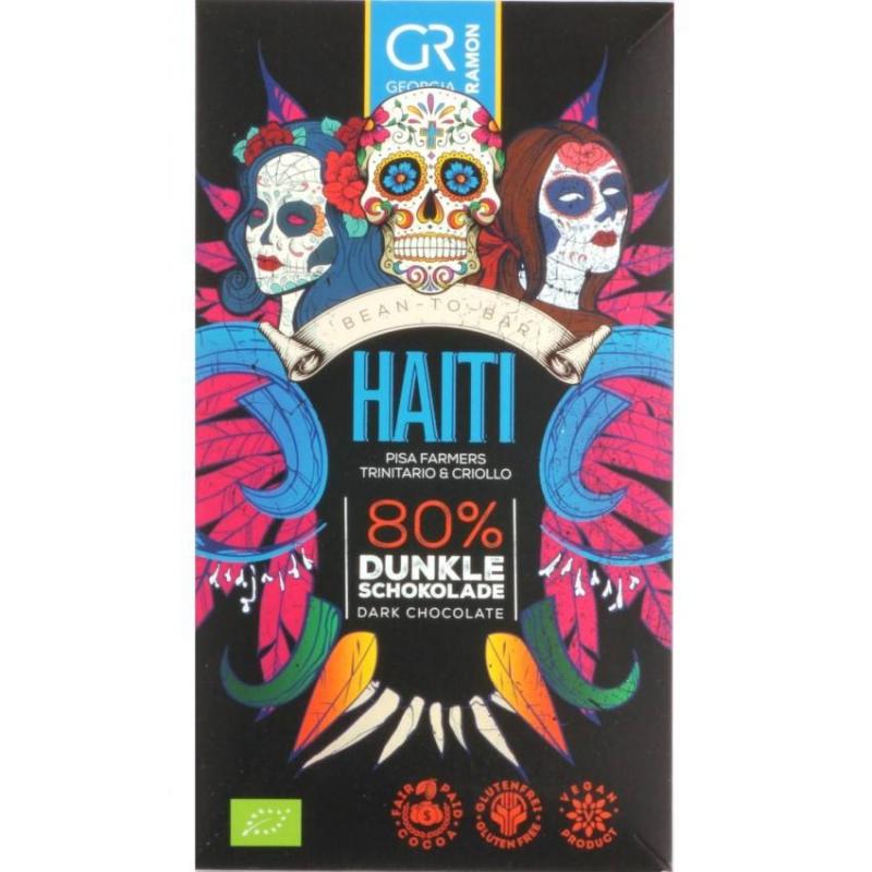 Doplňková Výživa - BIO 80% Haiti Georgia Ramon 50g