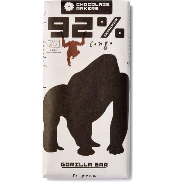 Doplňková Výživa - BIO 92% GORILLA bar 85g