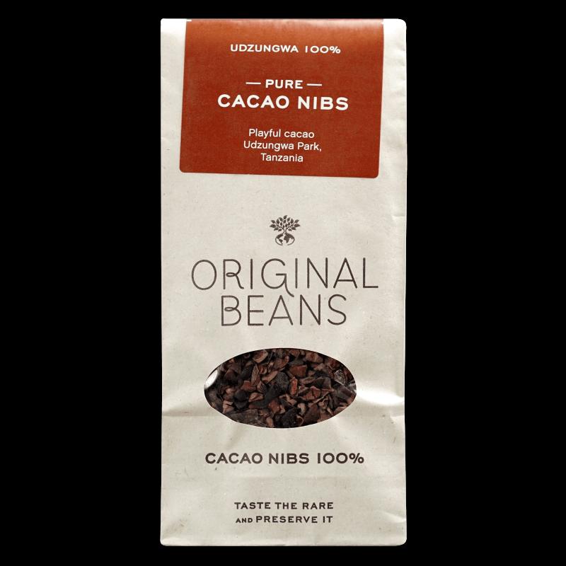 Doplňková Výživa - BIO drcené kakaové boby - Original Beans 100g
