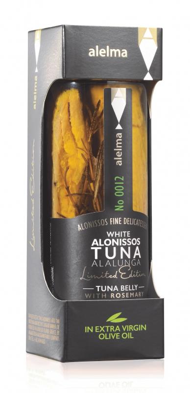 Doplňková Výživa - Bílý tuňák Alalunga s rozmarýnem (limitovaná edice) - Alelma 156g