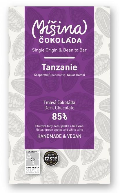 Doplňková Výživa - 85% Tanzanie - Míšina č. 50g