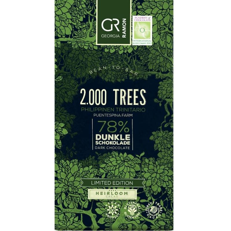 Doplňková Výživa - 78% Limited 2000 trees (heirloom) Georgia Ramon 50g