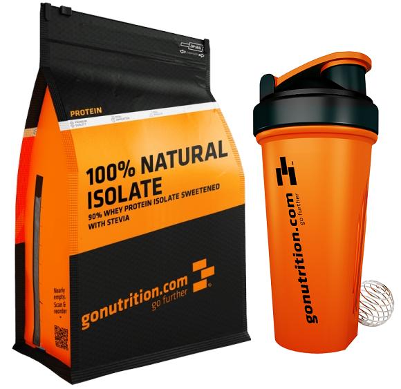 Doplňková Výživa - GN 100% Natural Izolát 1kg (+shaker)
