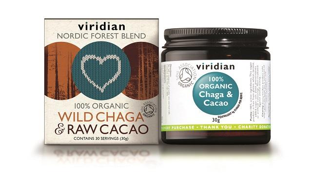 Doplňková Výživa - Divoká Chaga & Raw Cacao 30g (BIO)