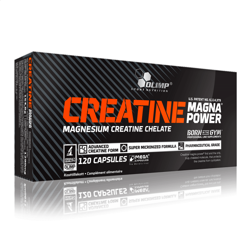 Doplňková Výživa - Kreatin Magnesium Chelát 120 kapslí