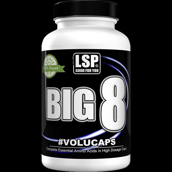 Doplňková Výživa - BIG 8 - Esenciální aminokyseliny 300 kapslí