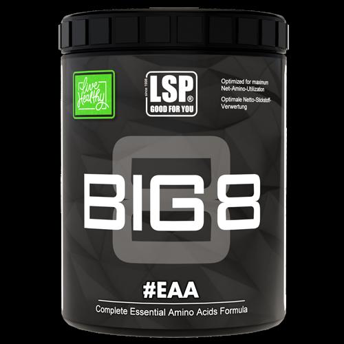 Doplňková Výživa - BIG 8 - Esenciální aminokyseliny 500g