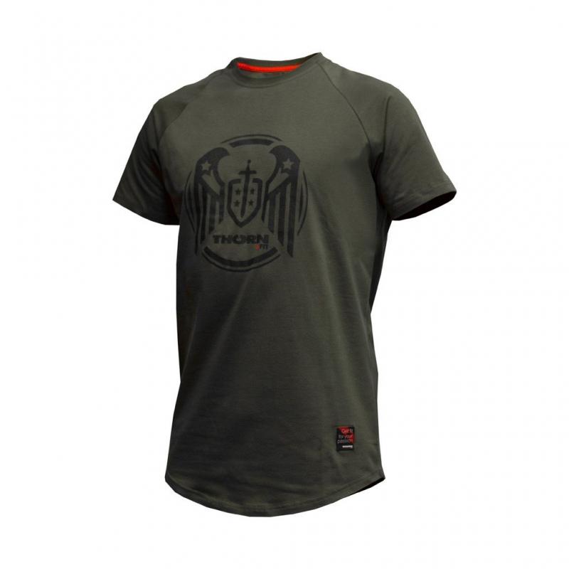 Oblečení - Thorn+fit tričko Wings Army Green