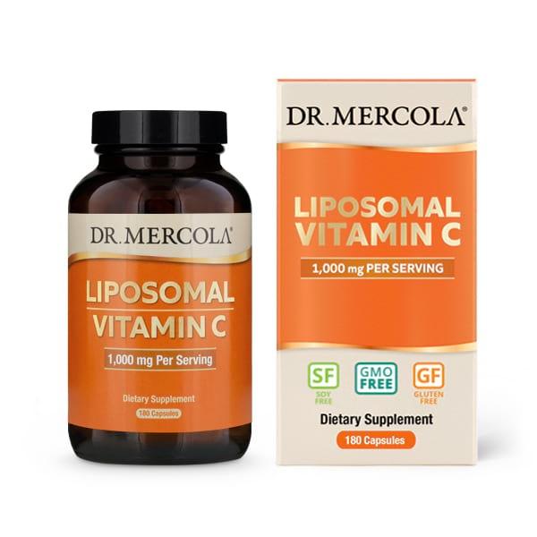 Doplňková Výživa - Liposomální vitamín C 180 kapslí