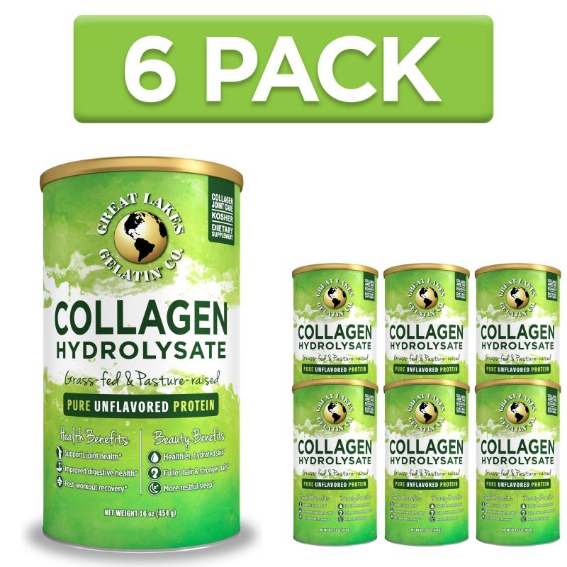 Doplňková Výživa - Kolagen GREAT LAKES (6x)