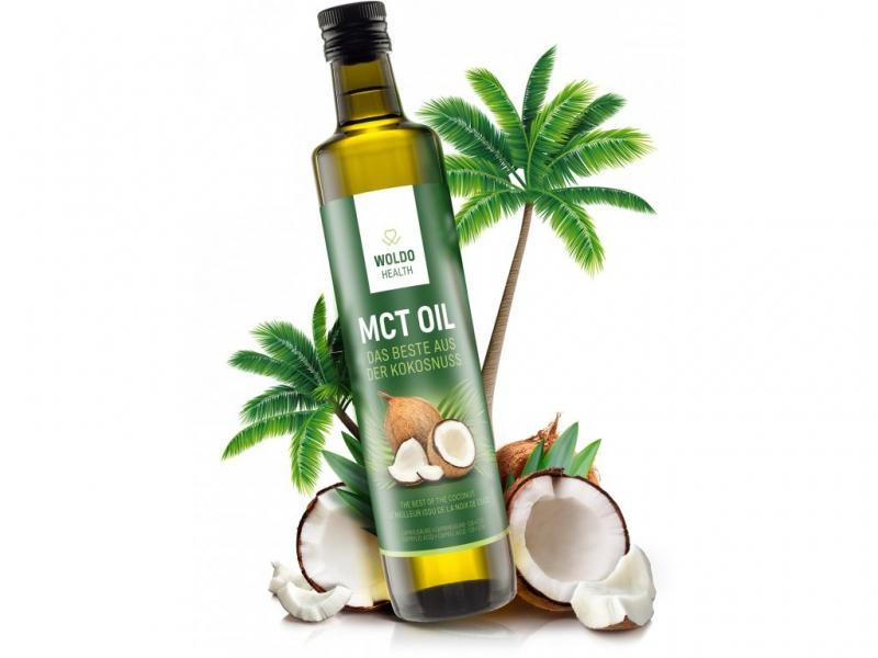 Doplňková Výživa - MCT olej 500ml