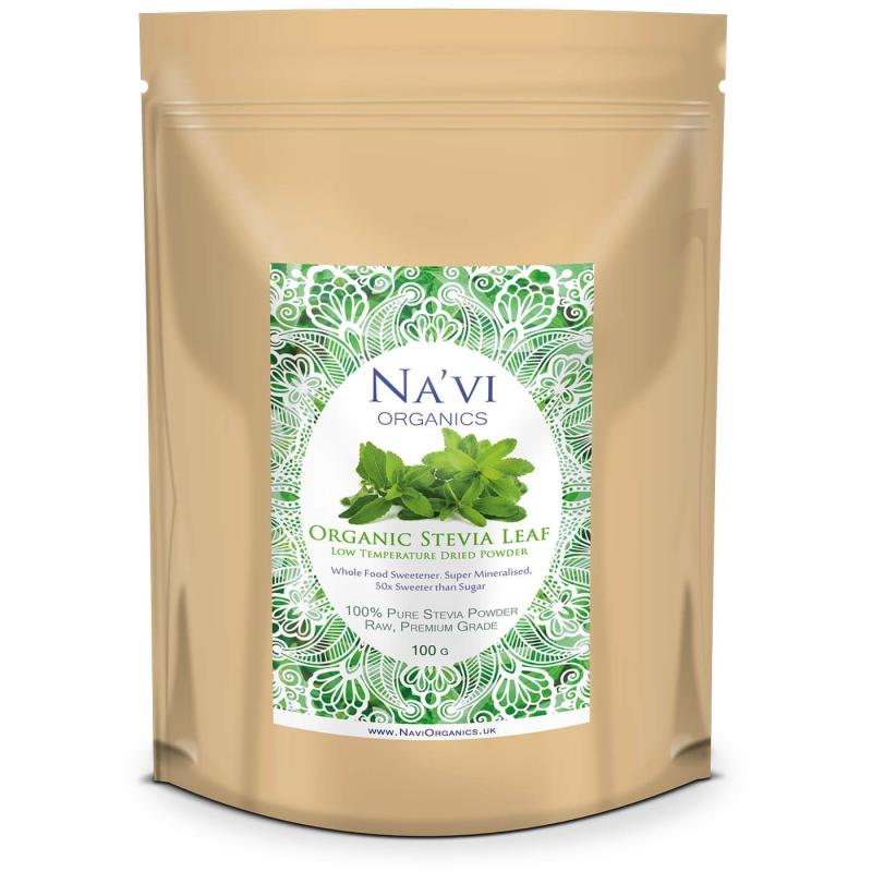 Doplňková Výživa - BIO Stevia Rebaudiana (RAW prášek přímo z listů) 100g