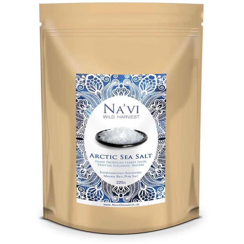 Doplňková Výživa - Arktická mořská sůl (vločky) 1kg