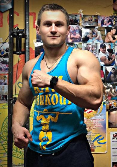 Oblečení - Stringer Raw Workout (tyrkysovo-žlutá)