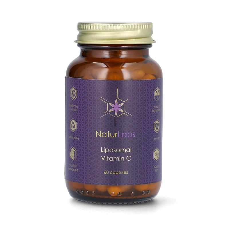 Doplňková Výživa - Liposomální vitamín C (NaturLabs) 60 kapslí