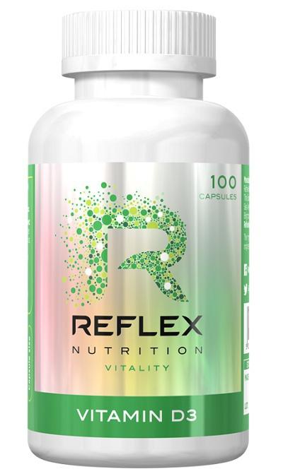 Doplňková Výživa - Reflex Vitamín D3 - 100 kapslí