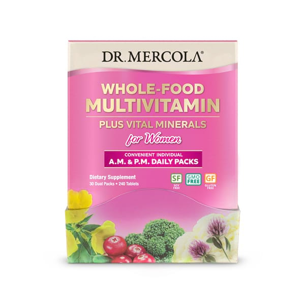 Doplňková Výživa - Přírodní multi-vita-minerál PRO ŽENY 240 tablet