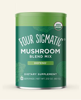 Doplňková Výživa - ORGANIC Mushroom Blend Defense - mix 10 hub (60g)