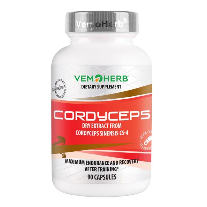 Doplňková Výživa - CORDYCEPS CS-4 (90 kapslí)