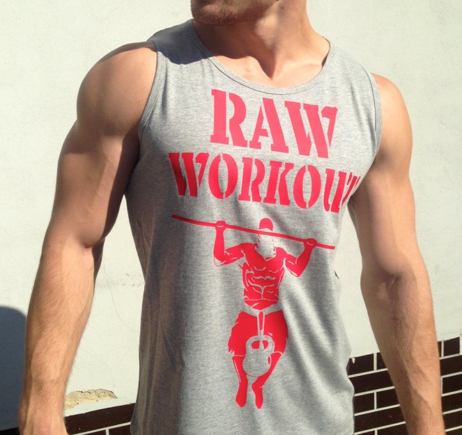 Oblečení - Raw Workout not Circus tílko