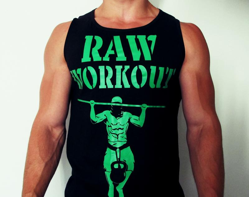 Oblečení - Raw Workout Death by Reps tílko