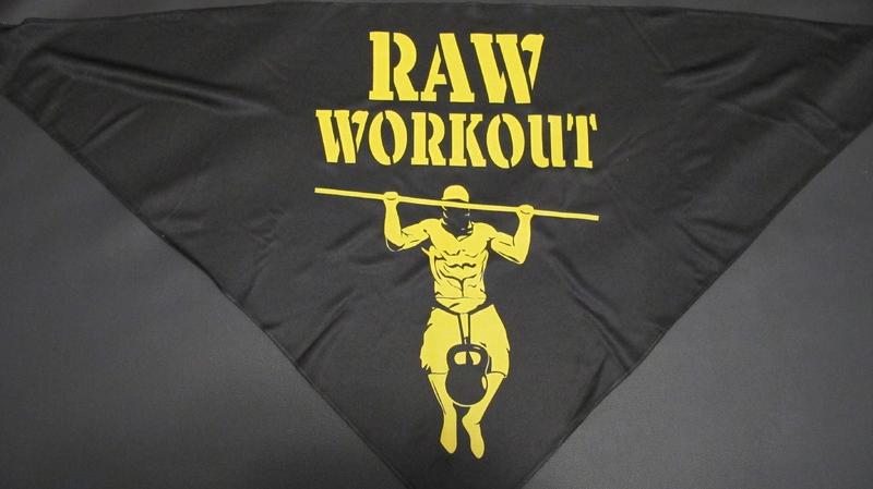 Oblečení - Šátek Raw Workout lvl.0 (NOVICE)