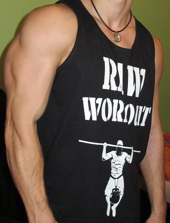 Oblečení - RAW Workout tílko (BASIC)