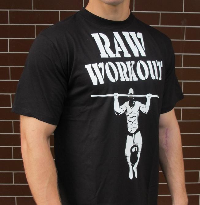 Oblečení - RAW Workout tričko (BASIC)