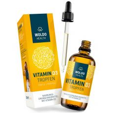 Vitamín D3 (1000IU kapky) 50ml/1800 kapek