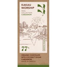 BIO 77% Peru Kardamom Tropical Glacier - Kakau Worship 75g