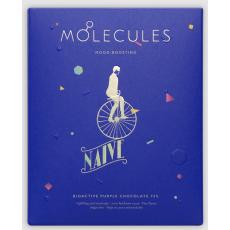 75% MOLECULES (fialová bioaktivní čokoláda bez cukru) Naive 57g