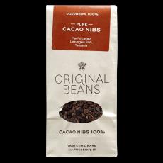BIO drcené kakaové boby - Original Beans 100g
