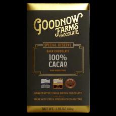 100% Special Reserve (s čerstvě lisovaným kakaovým máslem) Goodnow farms 55g
