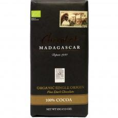 BIO 100% Chocolat Madagascar (bez přísad) 85g