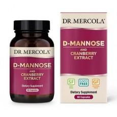D-manóza a brusinky (extrakt) 60 kapslí
