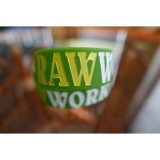 Raw Workout Náramek (zeleno-žluto-bílá)