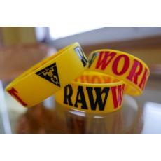 Raw Workout Náramek (žluto-černo-červená)