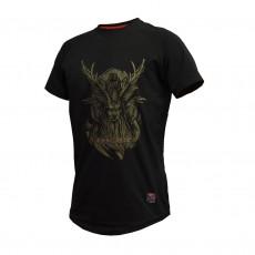 Thorn+fit tričko ODIN (černo-zlatá)