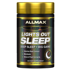 Allmax Lights out SLEEP 60 kapslí