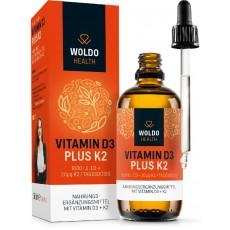 Vitamíny D3 + K2 v MCT (kapky) 50ml/1800 kapek