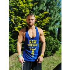 NEW Stringer Raw Workout (ROYAL BLUE)