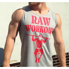 Raw Workout not Circus tílko
