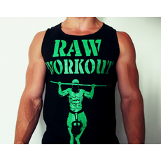 Raw Workout Death by Reps tílko