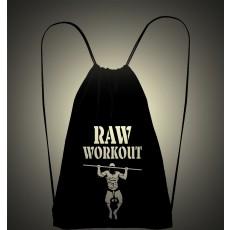 Raw Workout batůžek (černo-bílá)