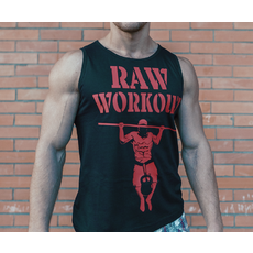Raw Workout not Circus tílko (černá)